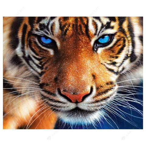Diamond Painting-5D Full Drill Tiger