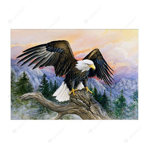 Diamond Painting-Partial Drill Eagle