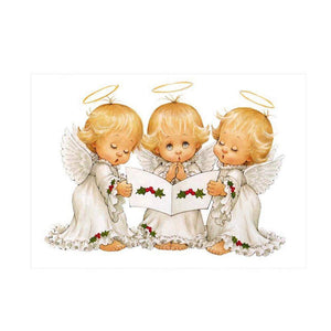 Diamond Painting-Partial Drill Round Beads Cute Angel