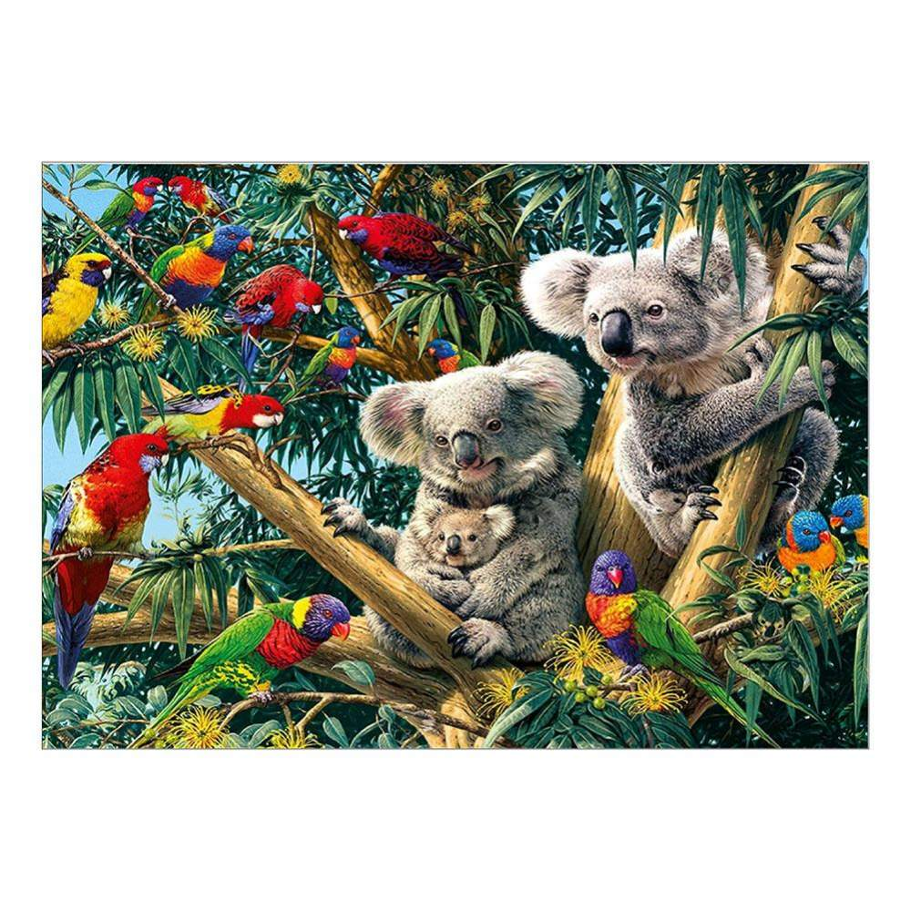 Diamond Painting-Partial Drill Round Beads Koala