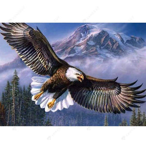 Diamond Painting-Partial Drill Eagle Flying