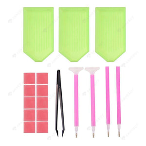 Painting Accessories-5D Diamond Painting Embroidery Pen Spot Drilling Tool Kit