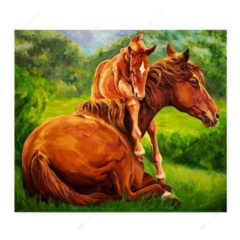 Diamond Painting-Partial Drill Horse