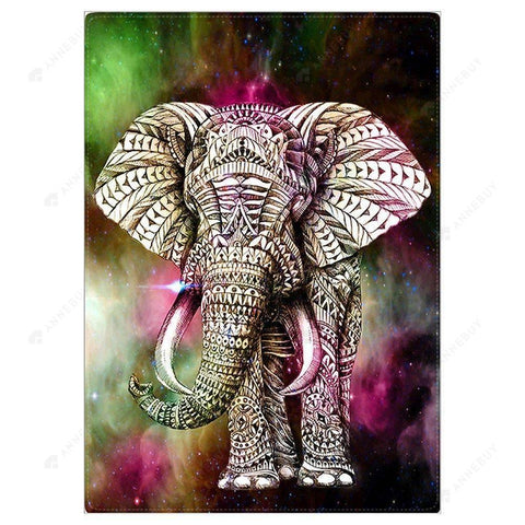 Diamond Painting-5D Full Drill Elephanty