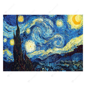 Diamond Painting-5D Full Round Drill Starry Night