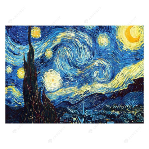 Diamond Painting-5D Full Drill Starry Night