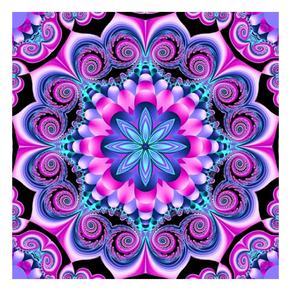 Diamond Painting-5D Full Drill Geometric Flower