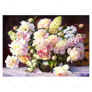 Diamond Painting-5D Full Drill Warm Flowers