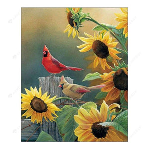 Diamond Painting-Partial Drill Birds