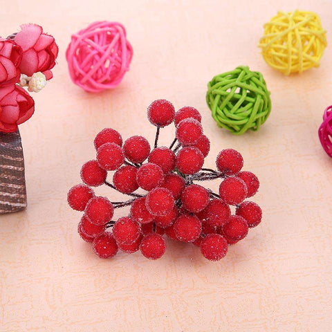 Artificial Flower-40 Heads Mini Fake Fruit Berries Flower