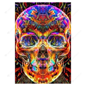 Diamond Painting-5D Full Drill Skull