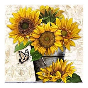 Diamond Painting-5D Full Drill SunFlower