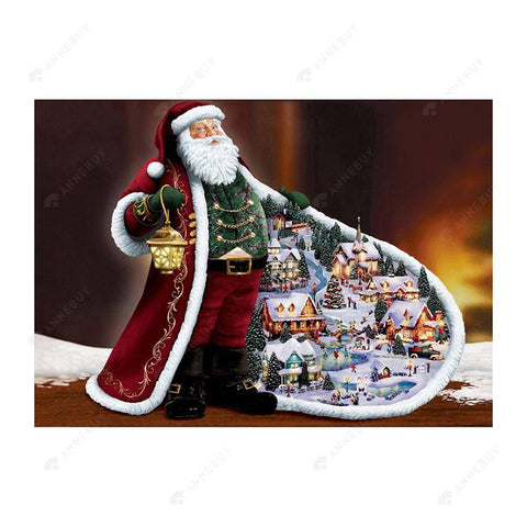 Diamond Painting-5D Full Drill Christmas Santa Clause