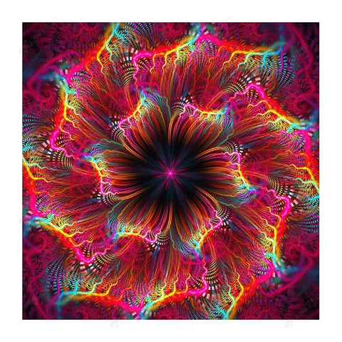 Diamond Painting-5D Full Drill Abstract Flower