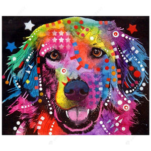 Diamond Painting-5D Full Drill Gorgeous Dog