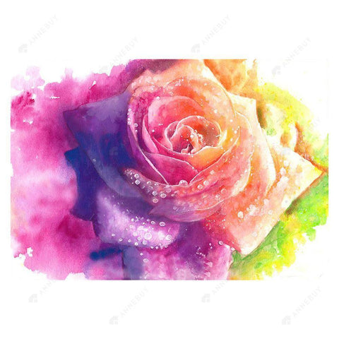 Diamond Painting-5D Full Drill Creative Rose