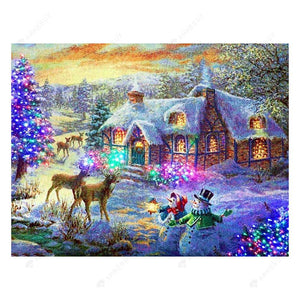 Diamond Painting-5D Full Drill Christmas