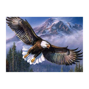 Diamond Painting-5D Full Drill Eagle Wings