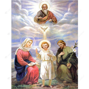 Diamond Painting- 5D Full Drill  Holy Angels