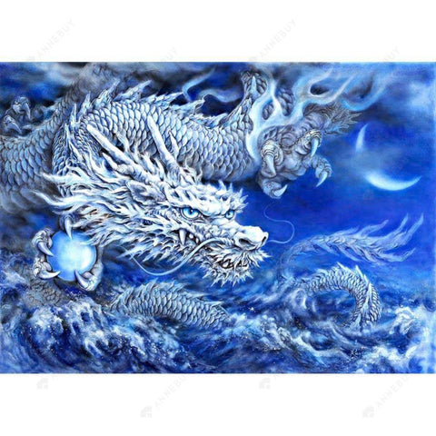 Diamond Painting- 5D Full Drill Ice Dragons