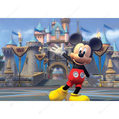 Diamond Painting-5D Full Drill Cartoon Mouse