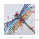 Diamond Painting-DIY Crystal Rhinestone Dragonfly