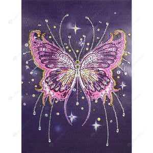 Diamond Painting-5D DIY Special Shaped Beads Butterfly