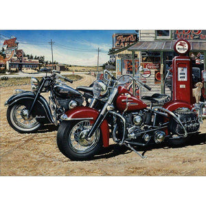 Diamond Painting-5D Full Round Drill Motorcycle
