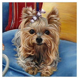 Diamond Painting-5D Partial Drill Dog