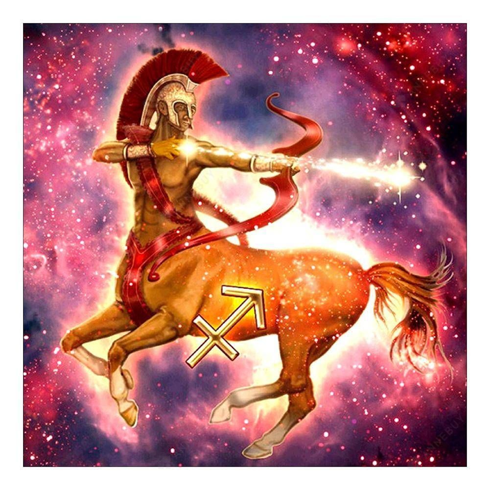 Diamond Painting-5D Full Drill Sagittarius