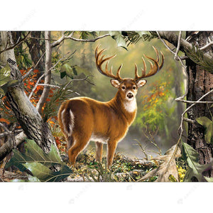 Diamond Painting-5D Full Drill Deer