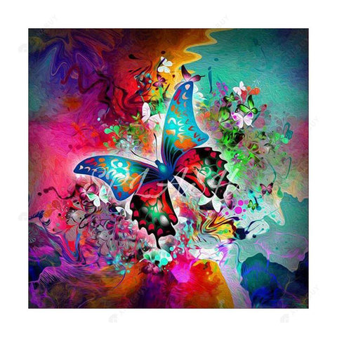 Diamond Painting-5D Full Square Drill Butterfly
