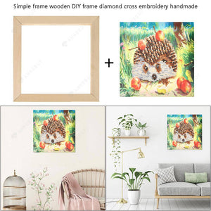 Wooden Photo Frame DIY Cross Stitch Diamond Painting Frames (250x250mm)