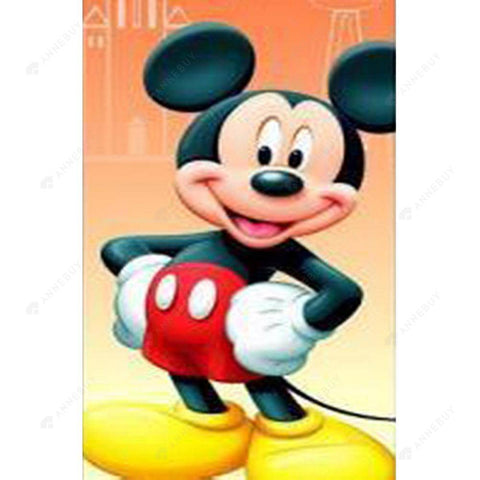 Diamond Painting-5D DIY Full Round Drill Cartoon Mouse