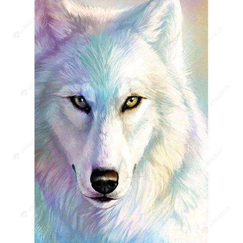 Diamond Painting-DIY Full Round Drill Wolf Animal