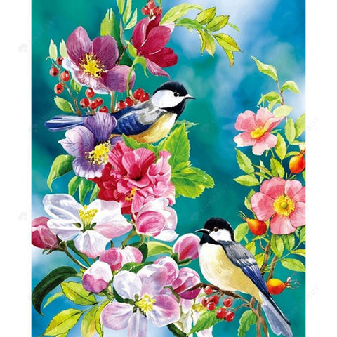 Diamond Painting-DIY Full Drill Square Beads Birds