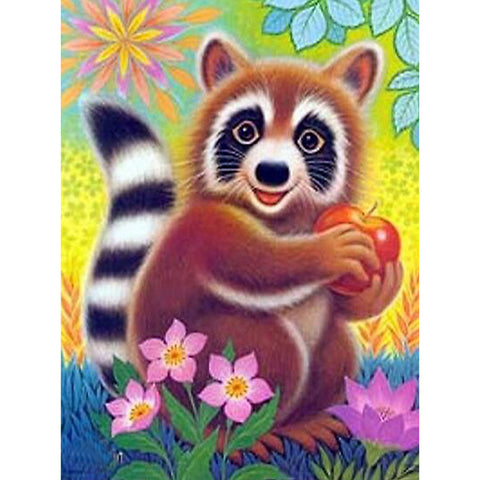 Diamond Painting-5D Full Round Drill Panda