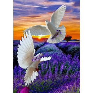 Diamond Painting-5D Full Round Drill Peace Dove