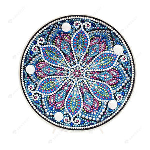 DIY Diamond Painting LED Lamp Full Drill Rhinestones Mandala Kid Room Decor