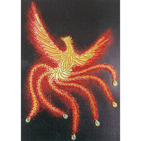 Diamond Painting-DIY Rhinestones Partial Drill Phoenix