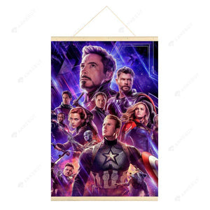 Hanging Diamond Painting-DIY Full Round Drill Avengers(No need for frame)