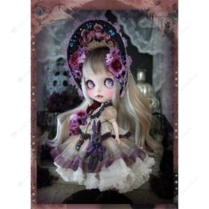 Diamond Painting-DIY Full Round Drill Noble Doll