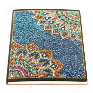DIY Crystal Rhinestones Diamond Painting Motif Mandala Notebook