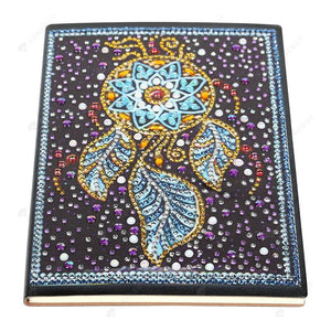 DIY Crystal Rhinestones Diamond Painting Dream Catcher Notebook