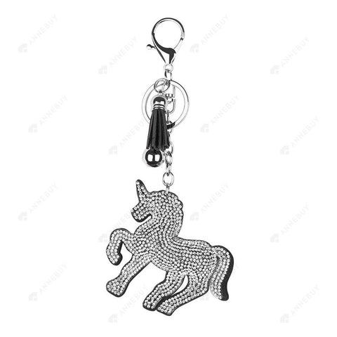 DIY Diamond Keychain-1pc Full Drill Crystal Rhinestones Horse