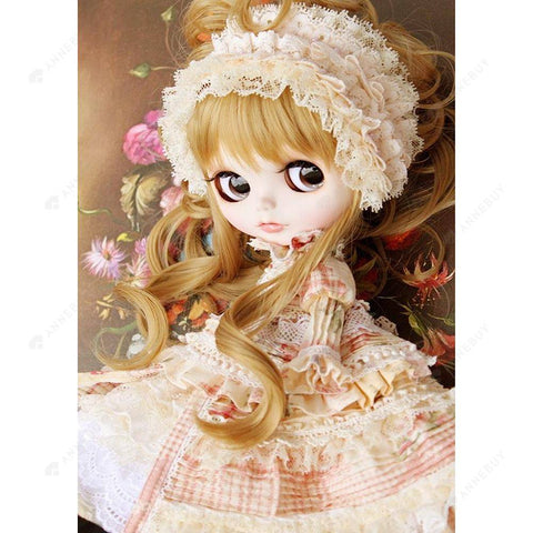 Diamond Painting-5D Full Round Drill Elegant Doll