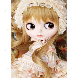 Diamond Painting-5D Full Round Drill Temperament Doll