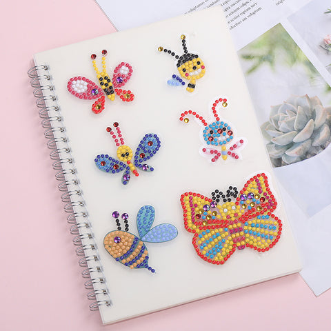DIY Cartoon Special-shaped Embroidery Diamond Painting Sticker for Children