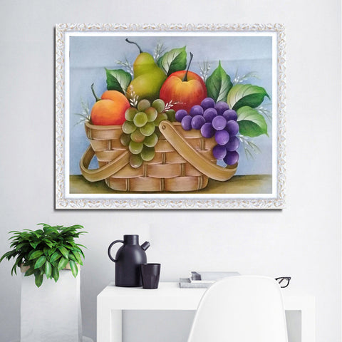 Diamond Painting-5D Full Round Drill Fruit