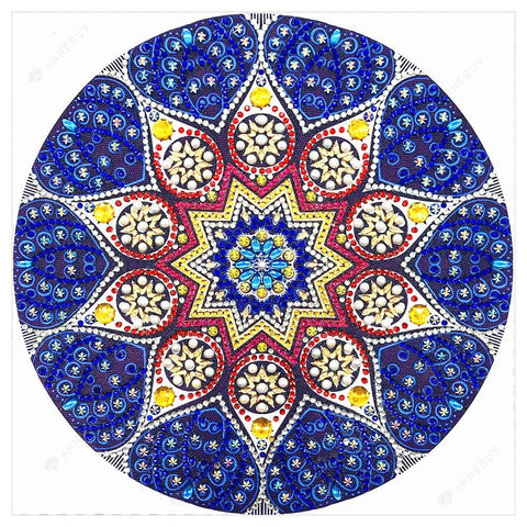 Diamond Painting-DIY Crystal Rhinestone Mysterious Mandala